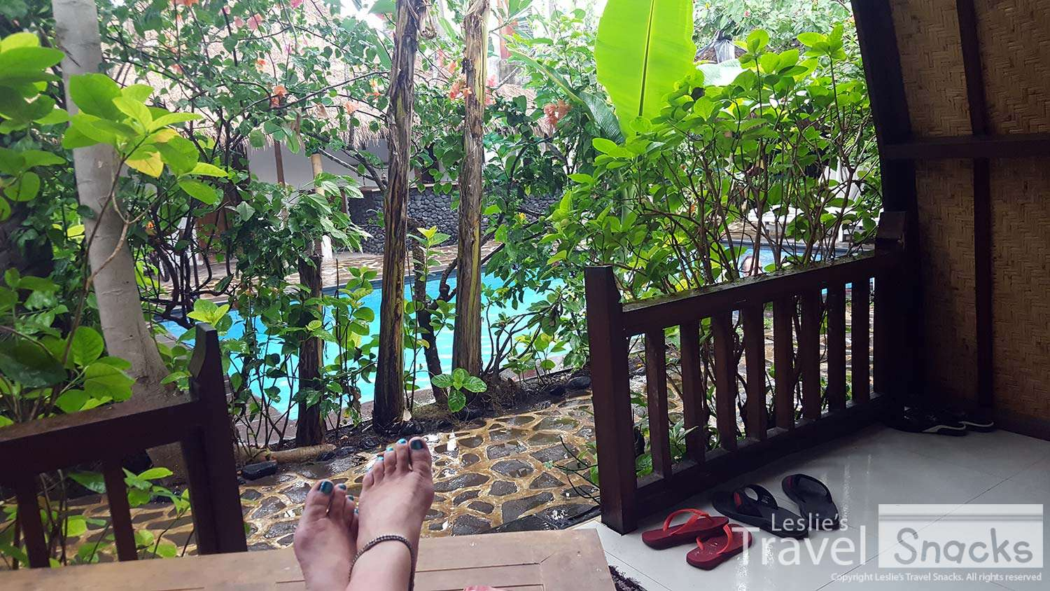 Gili Air hotel with pool