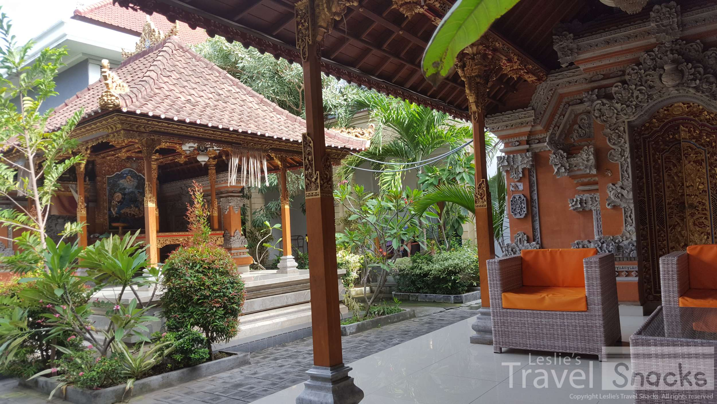 The Kutaya has family temples on the hotel grounds. It's very pretty and very close to the airport.