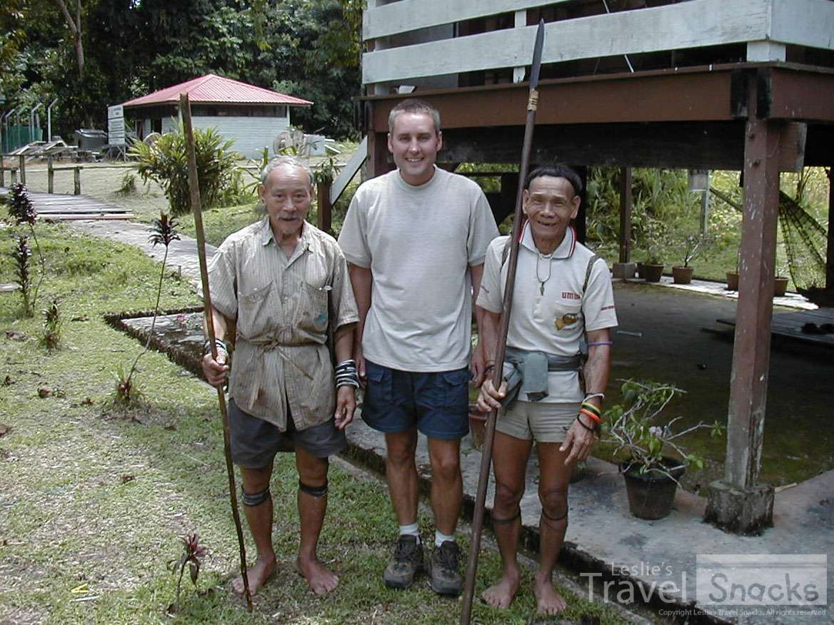 In Mulu National Park, we ran into these guys on their way hunting wild boar!