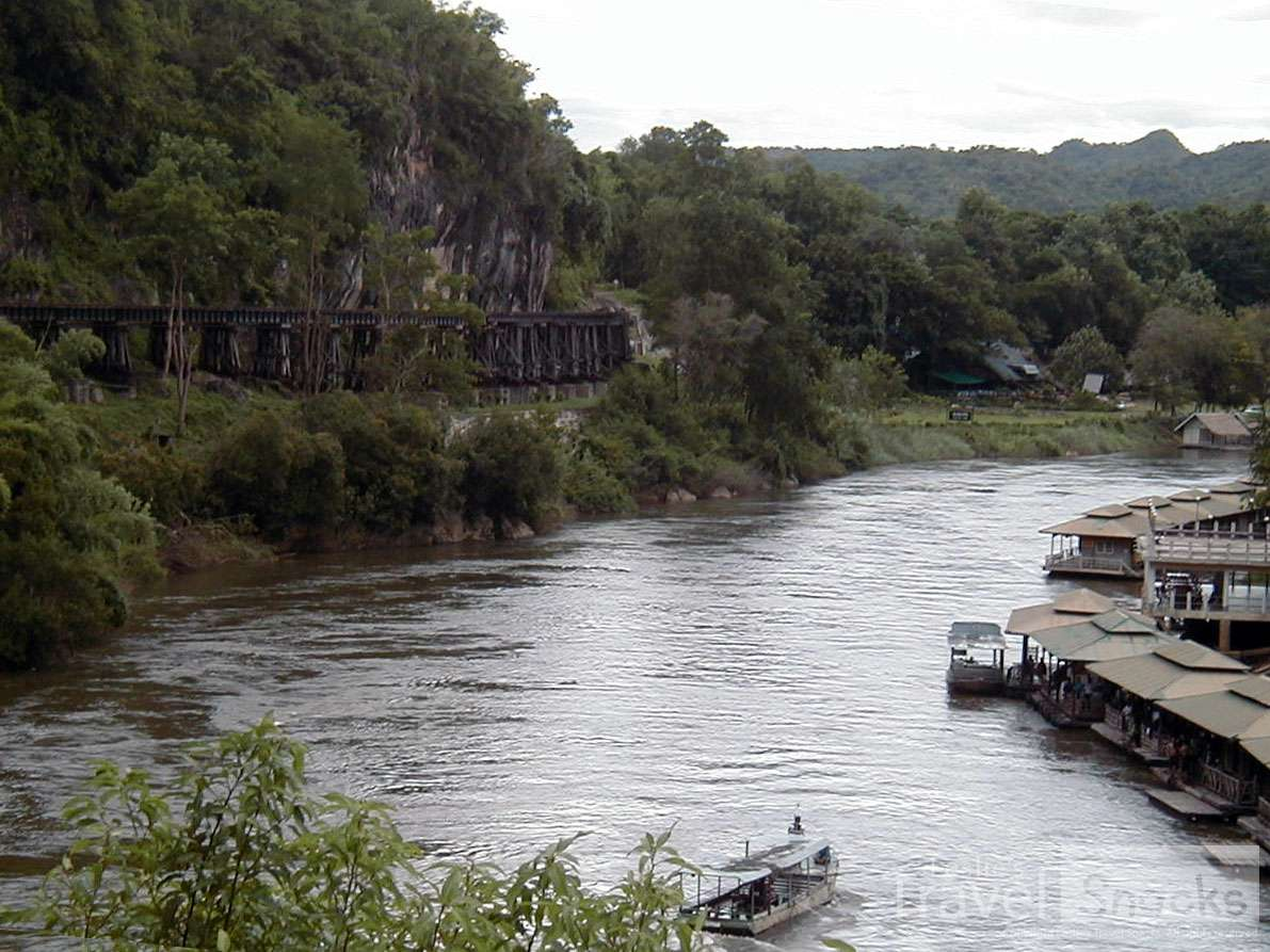 The death railway on the river Kwai. So much sad history but very interesting, including the JEATH War Musseum.