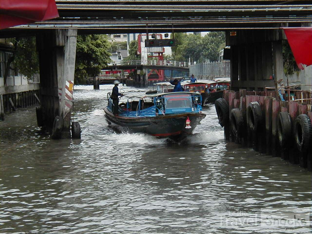 Love the klong taxis in Bangkok. Only about 10 cents to ride!