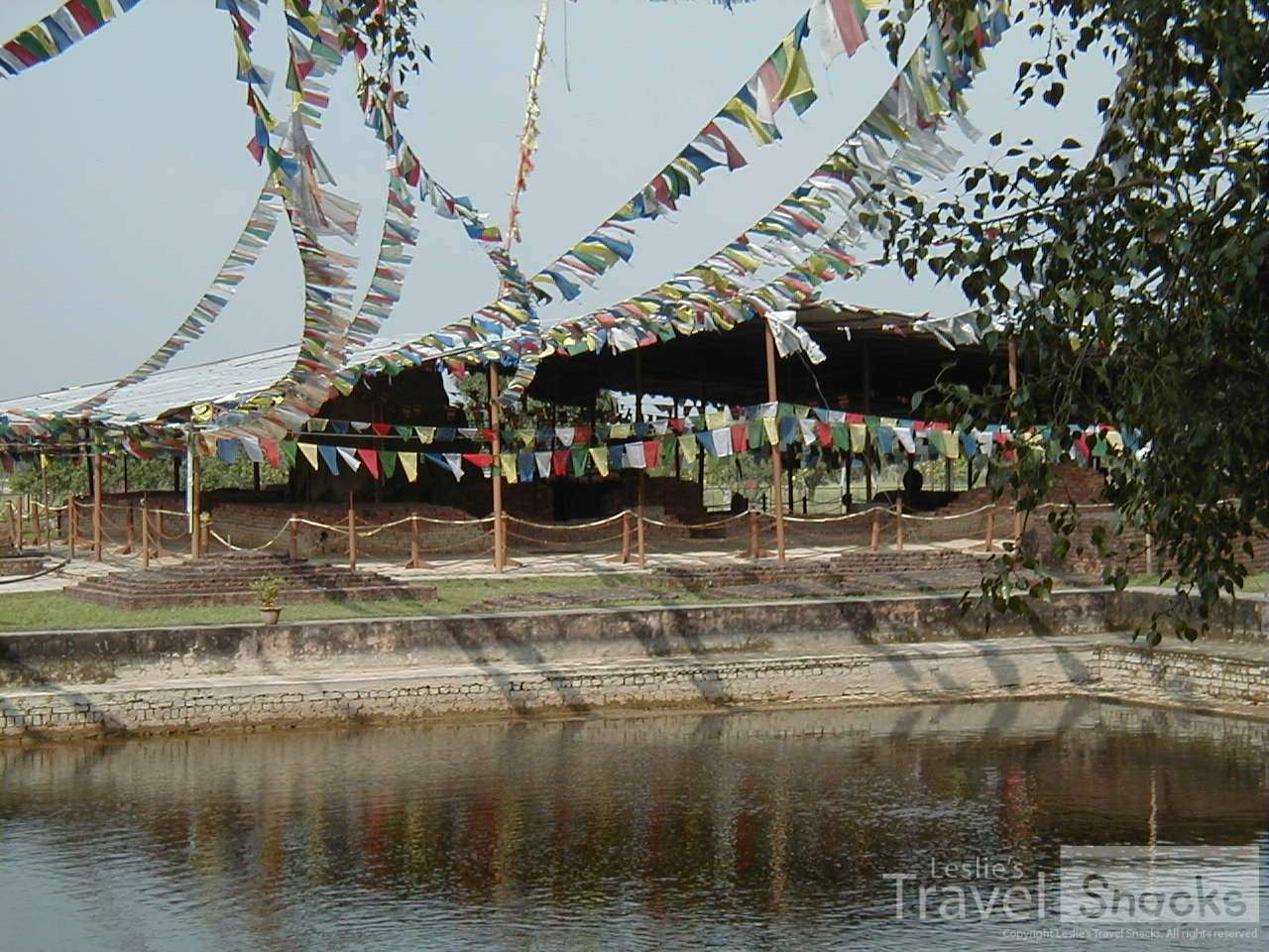 Where Buddah was born in Lumbini