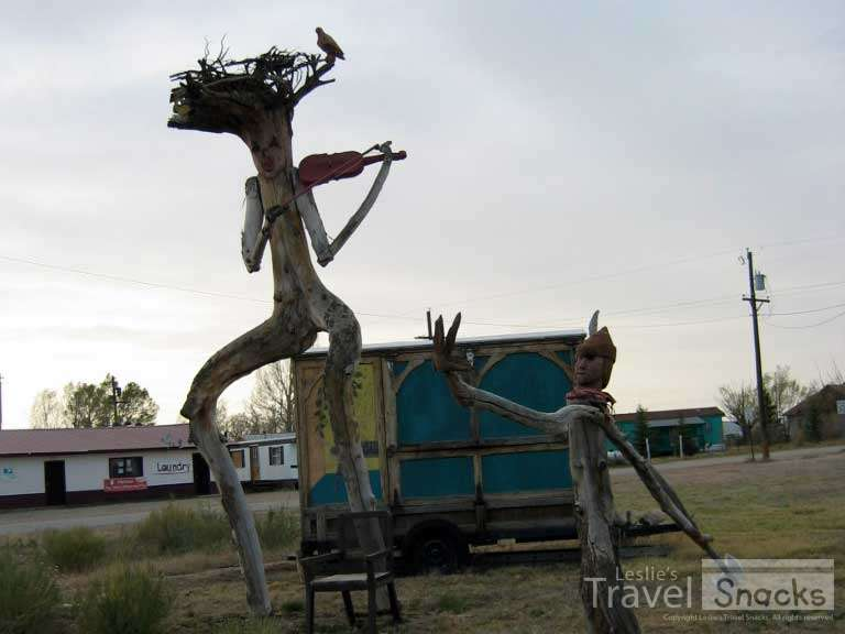 Just some of the weird stuff you see driving across middle America.