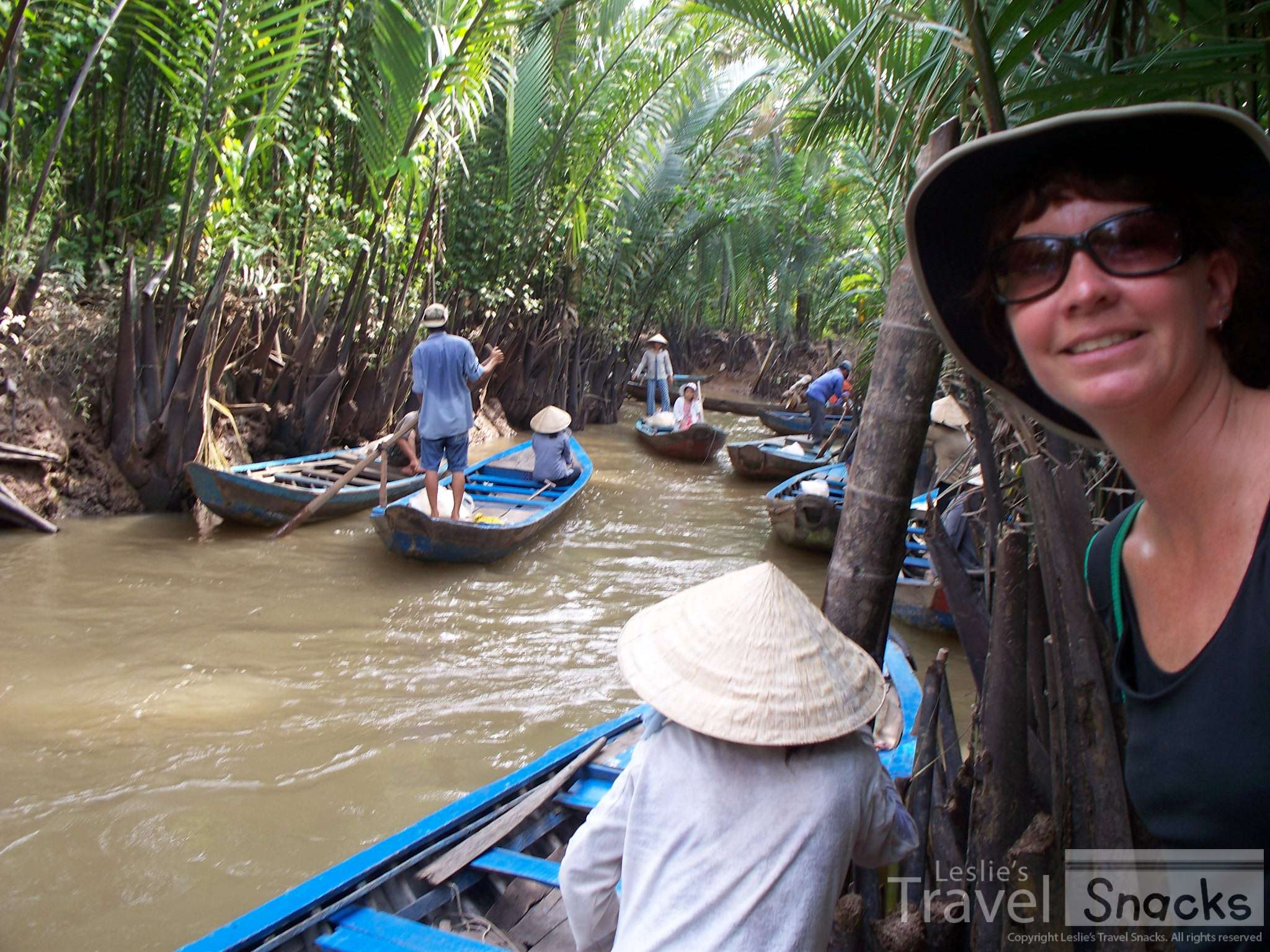 The Mekong Detla tour turned out to be a good way to spend some extra time.