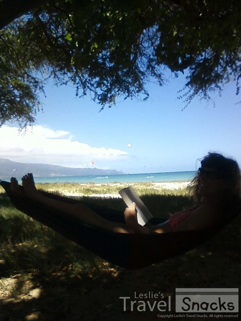 I spent many an hour here in this hammock on Kanaha beach while my (now-ex) indulged his obsession.