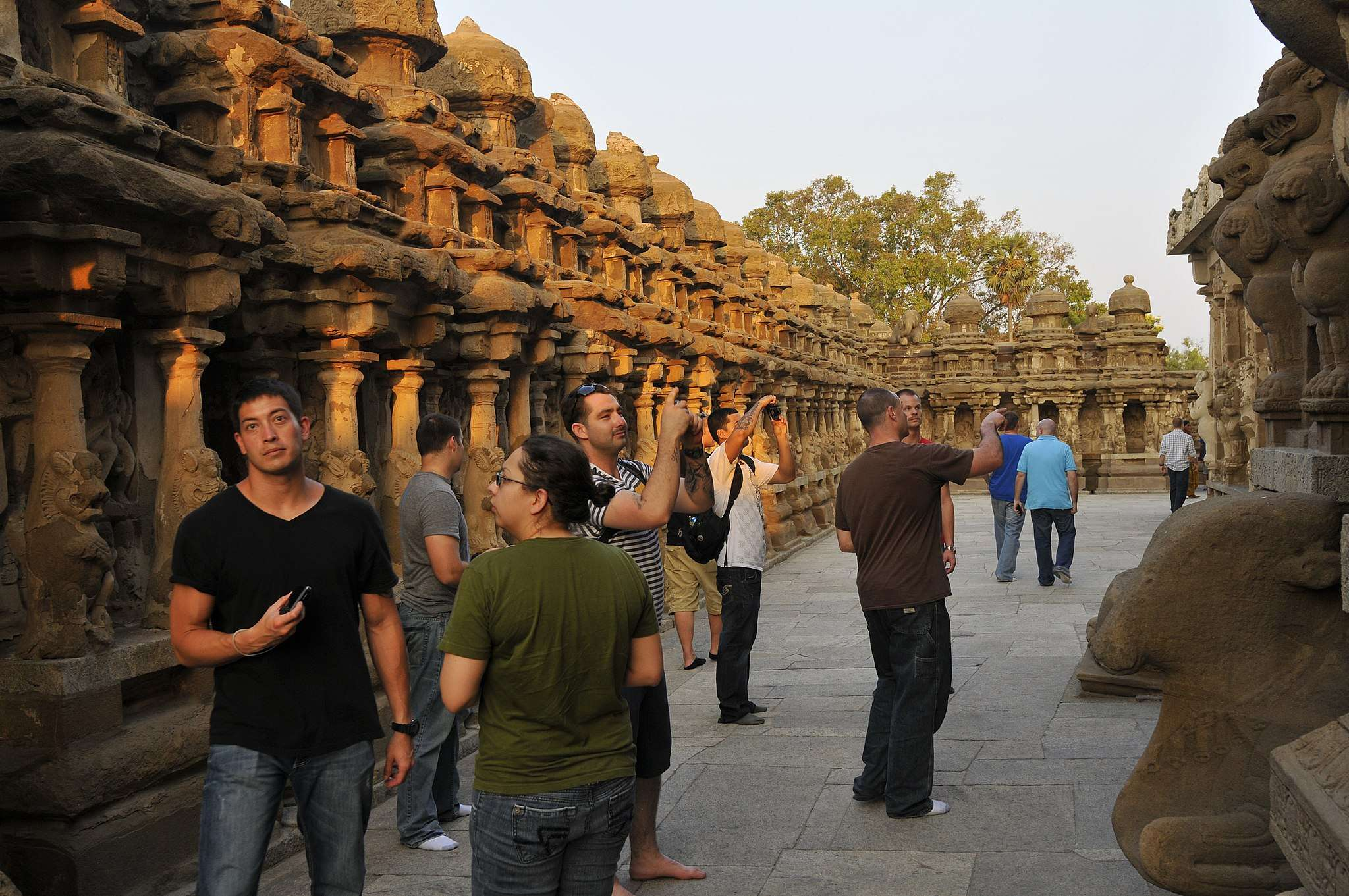 Be respectful of ancient sites and temples! Dress and act appropriately.