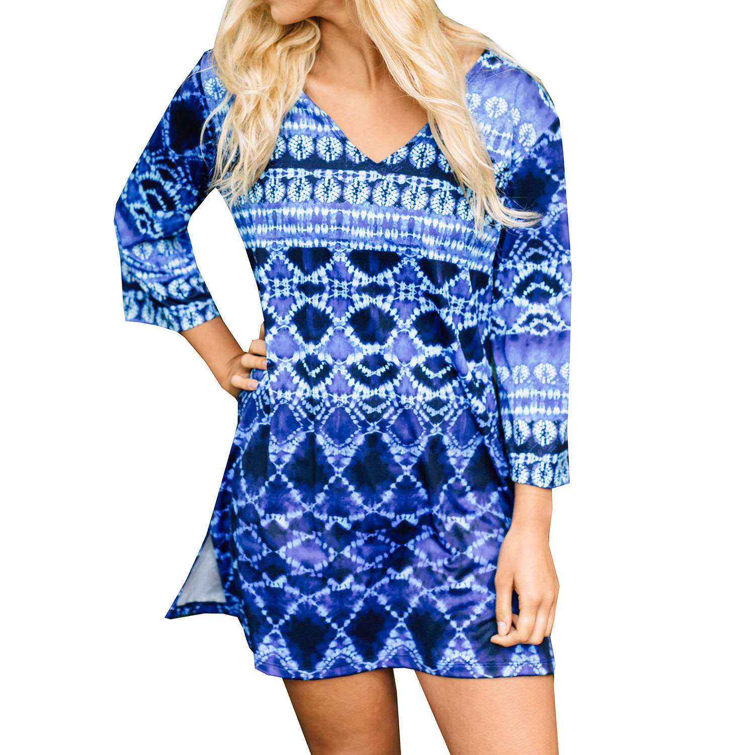 J Valid beach cover makes a great tunic / sundress for travel!