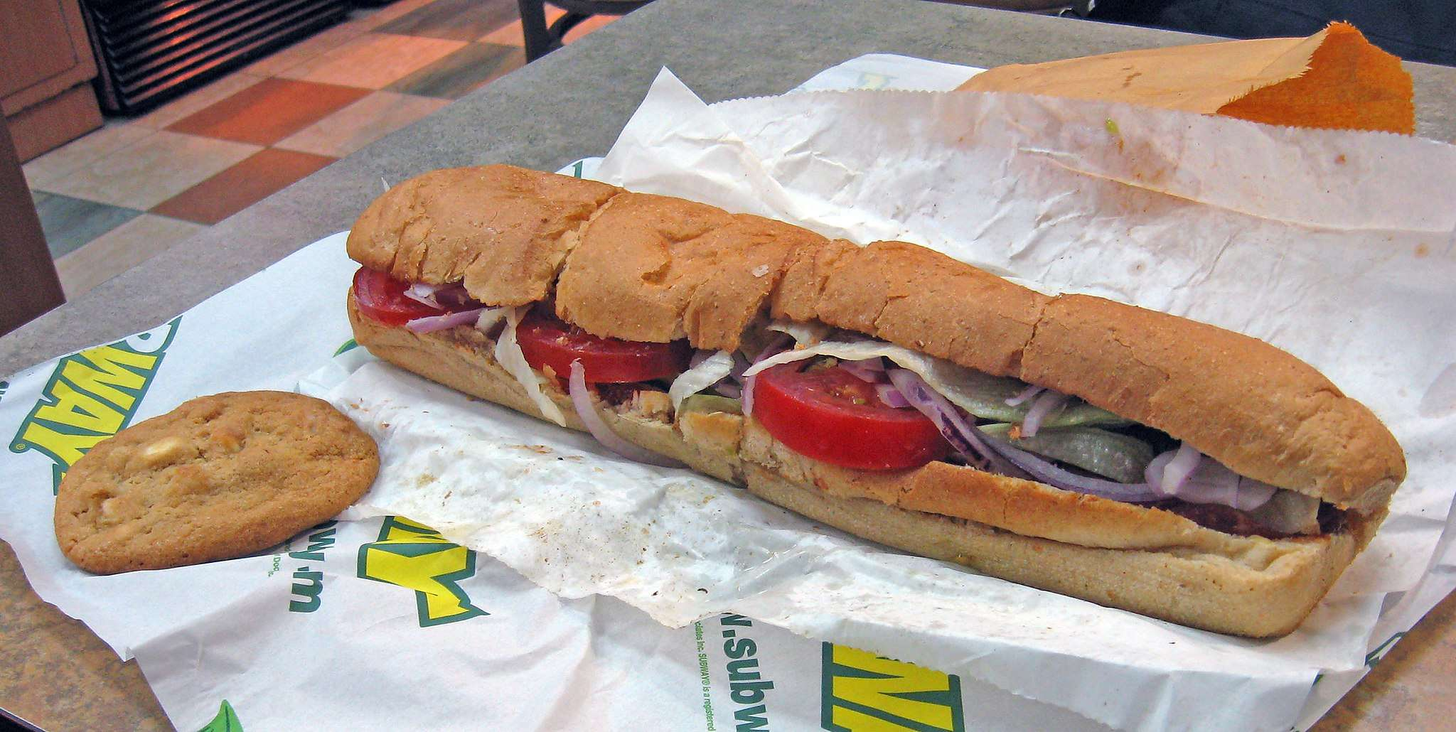 Subway Sandwich - if you must buy airport food, this is  usually a good value.