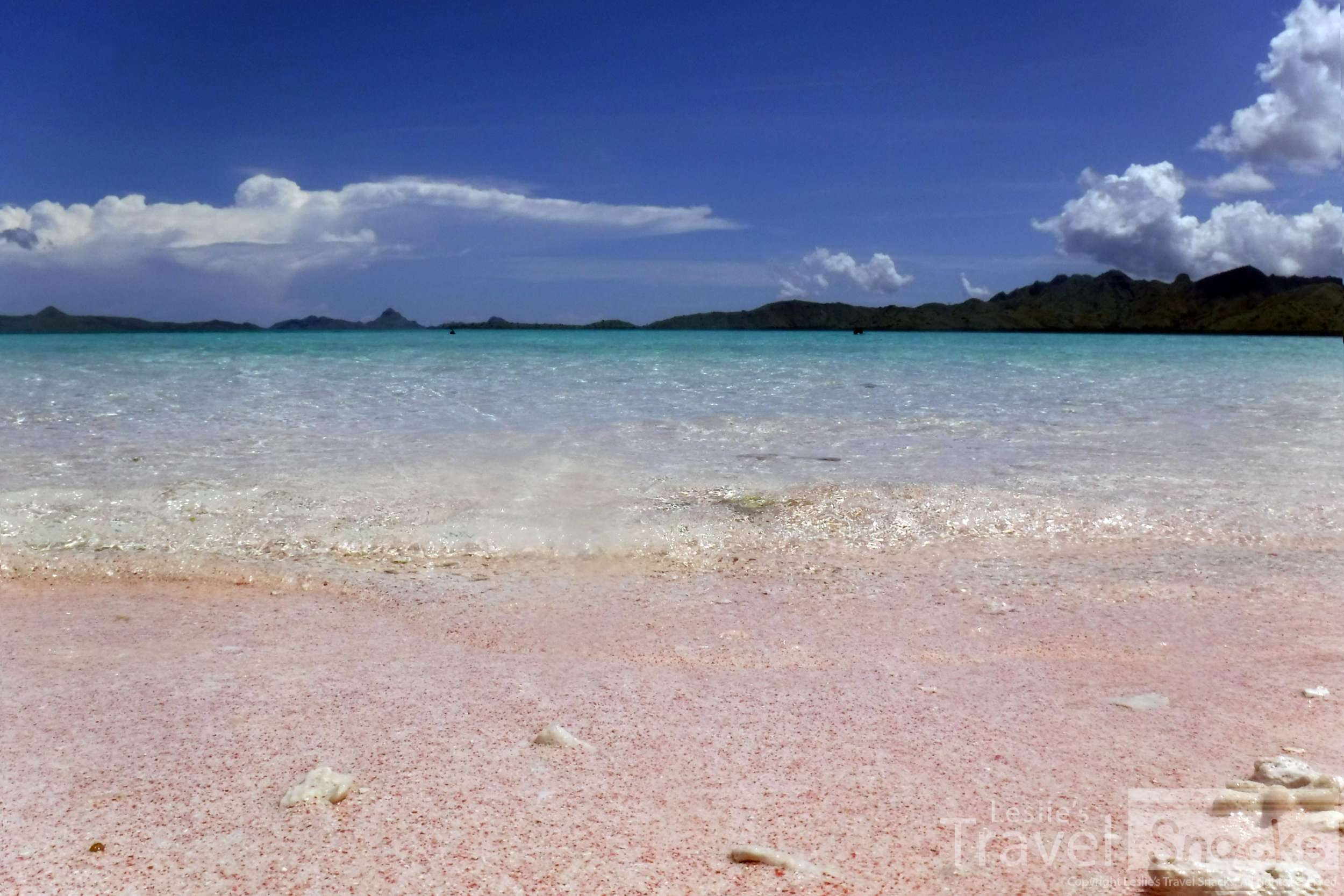 OMG I could stare at these colors all day. Pink sand beaches take a perfect tropical beach to another level.