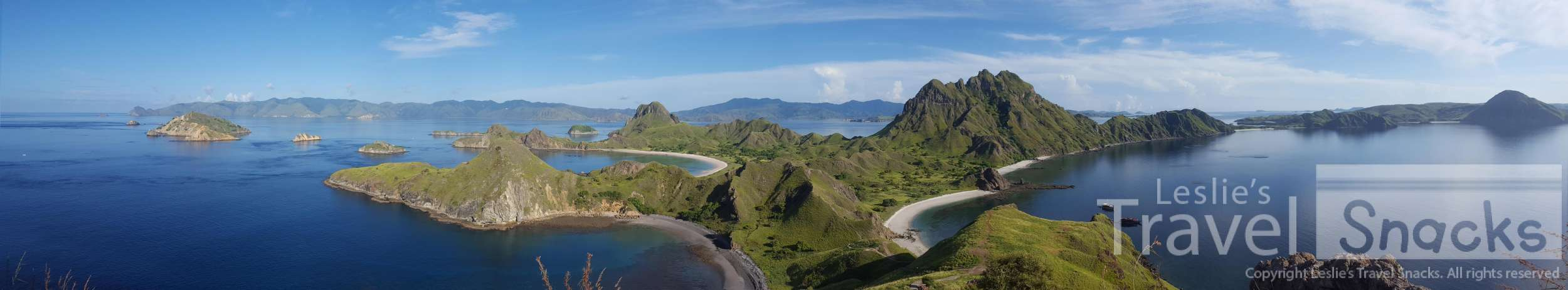 Padar, Indonesia island view.